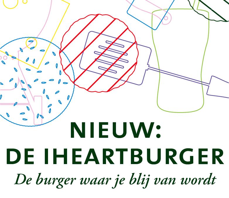 De iHeartburger: de burger waar je blij van wordt