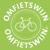Omfietswijn_logo_groen