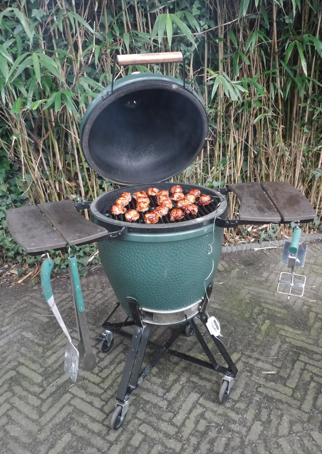 Barbecue met een groep: Big Green Egg