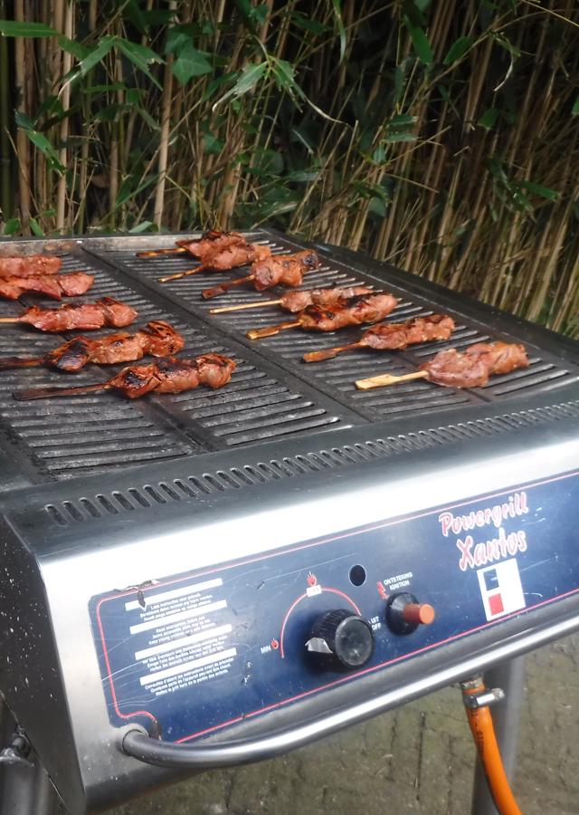 Barbecue met een groep: leenbarbecue