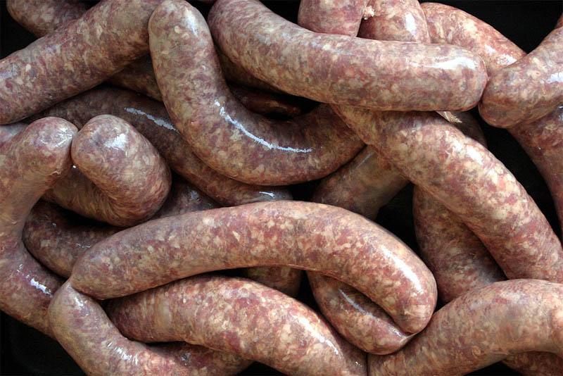 Meatloaf sausage