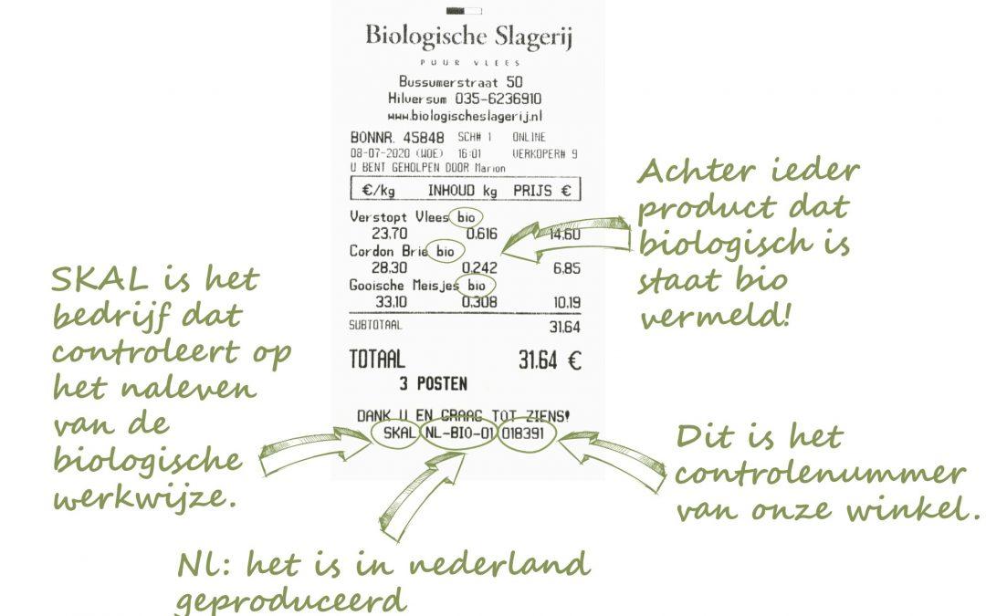 Hoe check je zelf of je aankoop biologisch is?